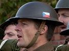 Z natáčeni filmu Kulka pro Heydricha, který je součástí cyklu České století.