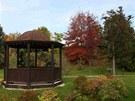 Areál Přírodního ráje - arboreta Horizont v Bystrovanech u Olomouce.