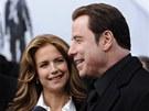 John Travolta s manželkou Kelly Prestonovou