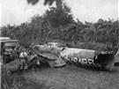 Americké průzkumné letadlo  U-2 sestřelené během karibské krize v roce 1962