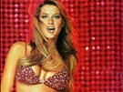 Gisele Bündchenová - Red Hot Fantasy Bra/Panties (2000)
