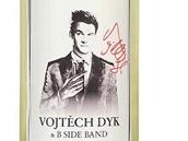 Vojtěch Dyk a B Side Band na lahvi ze specialní kolekce vín