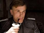 Rakouský herec Christoph Waltz jako Plukovník Landa ve filmu Hanební pancharti