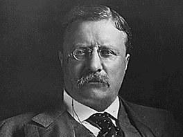 Prezident Theodore Roosevelt. Asi v�d�l, jak� riziko se poj� s ��adem, chopil
