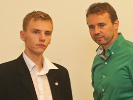 Ve �t�bu ODS vl�dl smutek, v zelen� ko�ili l�dr David Sventek. (13. ��jna 2012)