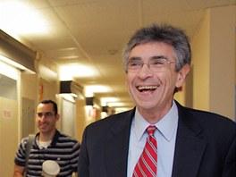 Robert Lefkowitz přišel 10. října do práce na Dukeově univerzitě evidentně v