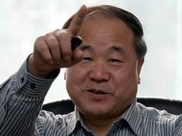 Dr�itel Nobelovy ceny za literaturu, ��nsk� spisovatel Mo Yan
