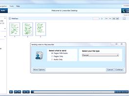 Upload souborů do cloudového úložiště (MyLivescribe) se neobešel bez problémů