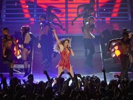 V Berlíně vystoupila zpěvačka Jennifer Lopezová (13. října 2012, Berlín).