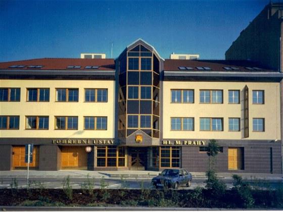 Nová budova Pohřebního ústavu hlavního města Prahy