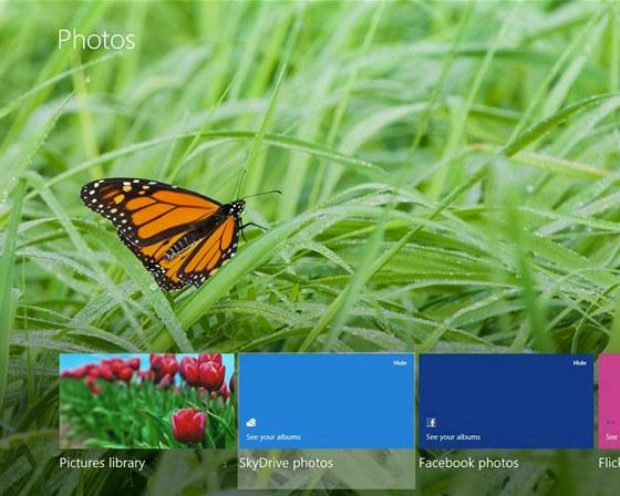 Windows 8 - dotykové ovládání je hračkou