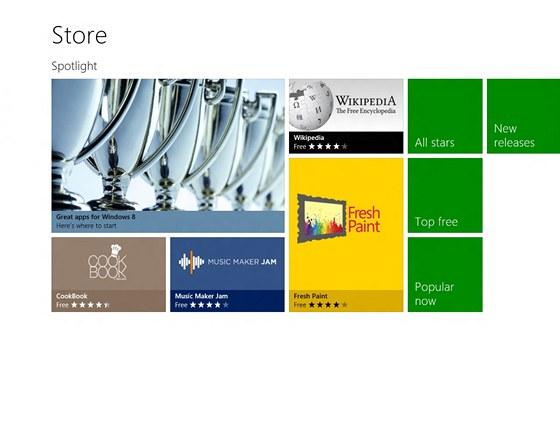 Windows 8 - store