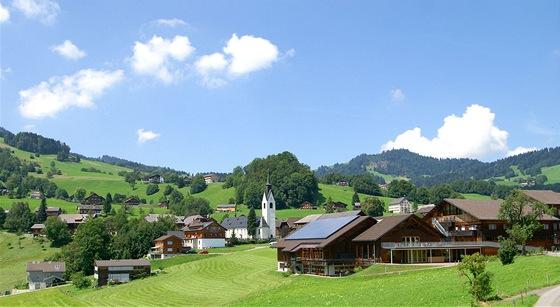Pohled na Schwarzenberg