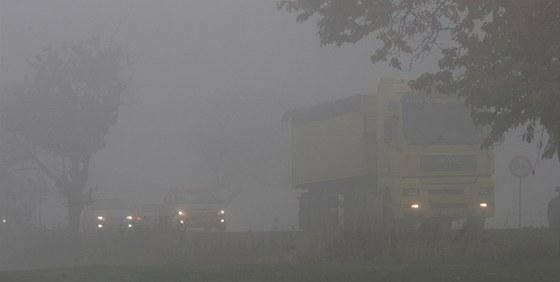 Ostravsko i v posledních dnech trápí smog. (25. října 2012)