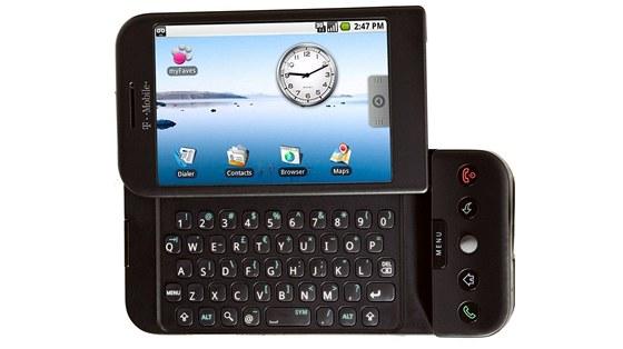 T-Mobile G1 - první telefon s operačním systémem Google Android