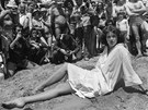 Na festivalu v Cannes, rok 1977