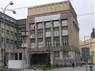 Budova �esk� spo�itelny v centru Ostravy po t�m�� devades�ti letech osi��,