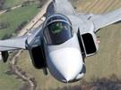 Stíhací letoun JAS-39 Gripen českých vzdušných sil