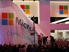 Times Square New York 25.10.2012 - Microsoft otevírá svůj obchod s Windows 8 a