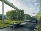 Z nevzhledné křižovatky na Malovance by se mohl stát zelený park.