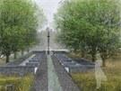 Vizualizace možné podoby sklářského pomníku na Kristiánově.