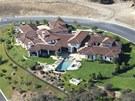Letecký pohled na sídlo Britney Spears