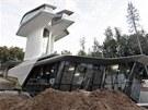 Nedaleko Moskvy vyrůstá futuristický dům. Pro Naomi Campbellovou jej staví