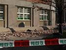 Na n�m�st� v Olomouci se z��tila ��st ��msy polikliniky SPEA, su� na�t�st�