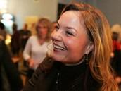 Martina Janková má v Ostravě skvělou náladu.