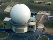 Radar NATO poblíž Slavkova u Brna - Vojenský radar v obci Sokolnice, poblíž