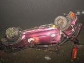 Nehoda na silnici I/11 nedaleko Žamberka.