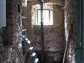 Koupelna v průběhu rekonstrukce