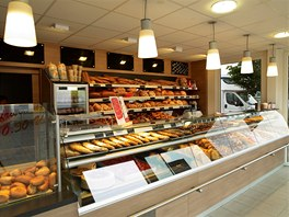 Prodejna pečiva Schmitts  Bad Neustadt/Německo – dodala KOMA MODULAR