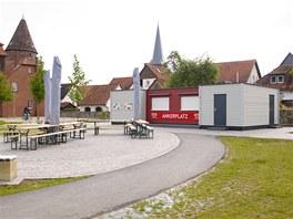 Zahradní restaurace Lügde/Německo – dodala KOMA MODULAR