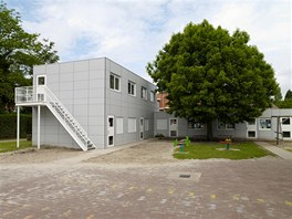 Škola Sint Niklaas/Belgie – výroba KOMA MODULAR