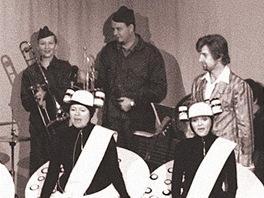 Z p�edstaven� Kdyby tis�c klarinet� (Radek Valenta, Jan Tepl�, Simona Vrbick�,