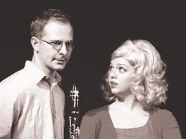 Z p�edstaven� Kdyby tis�c klarinet� (Radek Valenta a Kate�ina �ildov�)