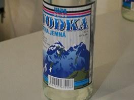 Lahve od distributora VAPA Drink, ve kterých se vyskytl jedovatý metanol.