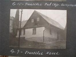 Dobový snímek rodinného domu