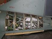 Raketový motor střely P22 na kapalné palivo