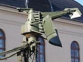 Vysunutý radiolokátor Garpun pro zjišťování hladinových cílů