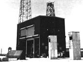 Budova s termonukleráním zařízením pro pokusný výbuch Ivy Mike