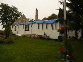 Tuhá zima prověřila střechu a na jaře bylo jasné, že další by už nemusela...