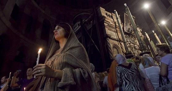 Chrám Božího hrobu v Jeruzalémě (3. listopadu 2012)