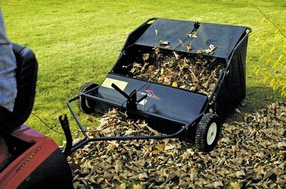 Sweeper se hodí spíše na větší zahrady.