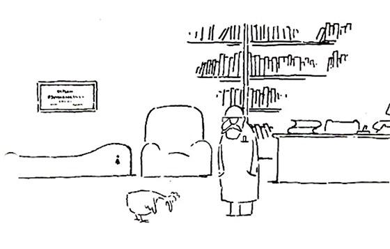 Záběr z Jiránkova kresleného filmu Co jsme udělali slepicím (1978), za kterého