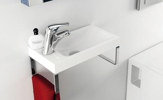 Umývátko Classic Mini je určeno jak do malých koupelen, tak i toalet.