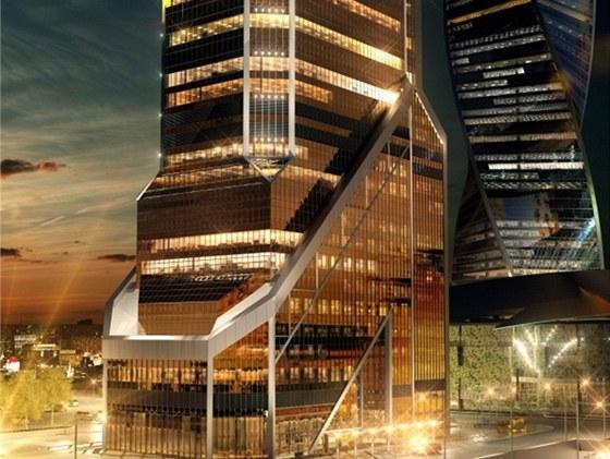 Vedle kanceláří budou v Mercury City i luxusní apartmány.