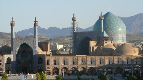 Královskou mešitu v Isfahánu postavil v letech 1612 až 1637 architekt Ali Akbar...