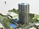 Zastánci projektu argumentují tím, že Šanovská věž bude stát v údolí, a nebude...